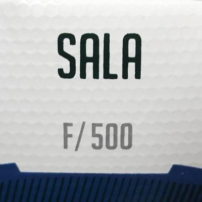 Ballon de Futsal 500 Hybride 63 cm blanc