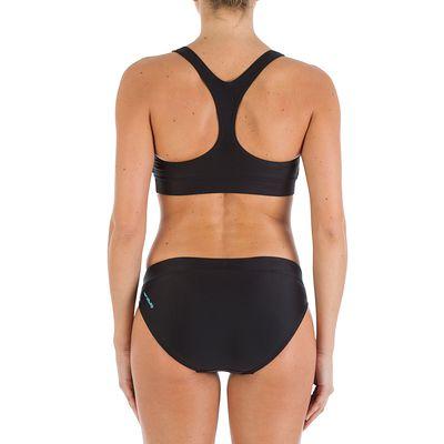 Bas de maillot de bain femme culotte Leony noir