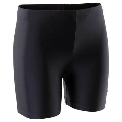 Shorty Gymnastique Fille (GAF et GR) noir 100