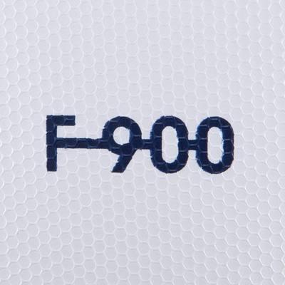 Ballon de football F900 FIFA PRO thermocollé taille 5 blanc bleu rouge
