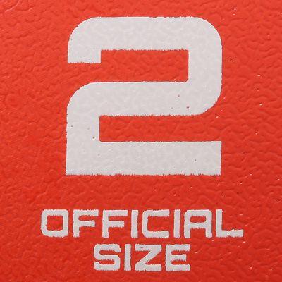 Ballon de handball adulte Wizzy Hand taille 2 rouge orange
