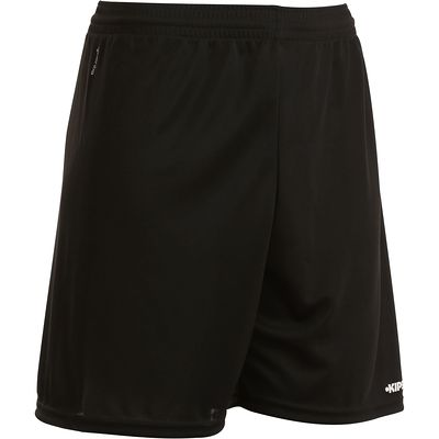 Short de football adulte F300 noir