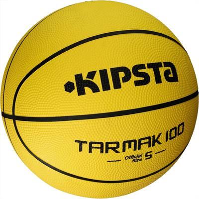 ballon de basket enfant tarmak 100 taille 5 jaune. Black Bedroom Furniture Sets. Home Design Ideas