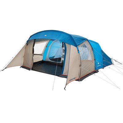 Tente de camping familiale arpenaz 5.2 | 5 personnes bleue
