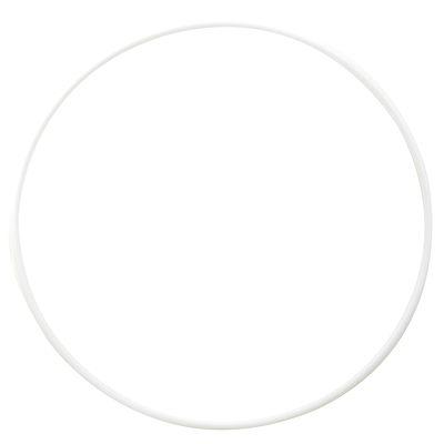Cerceau de Gymnastique Rythmique (GR) 85 cm Blanc