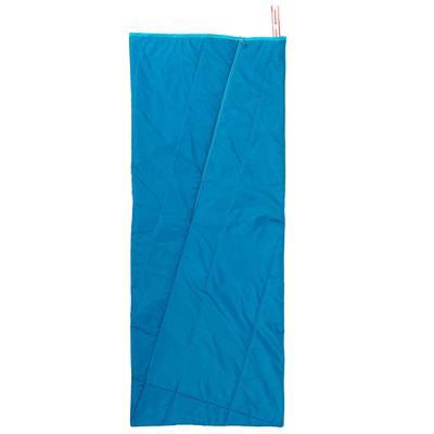Sac de couchage de camping ARPENAZ 25° bleu