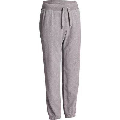 Pantalon 520 regular Gym Stretching homme gris