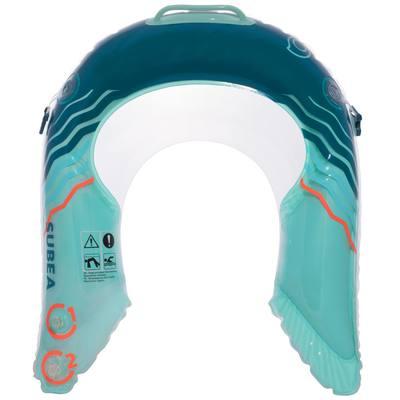 Bouée d'observation de snorkeling OLU 120 bleu  M