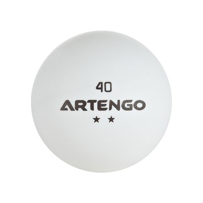 6 BALLES TENNIS DE TABLE 850 C ARTENGO