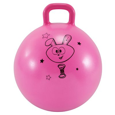 Ballon Sauteur Resist 45 cm gym enfant rose