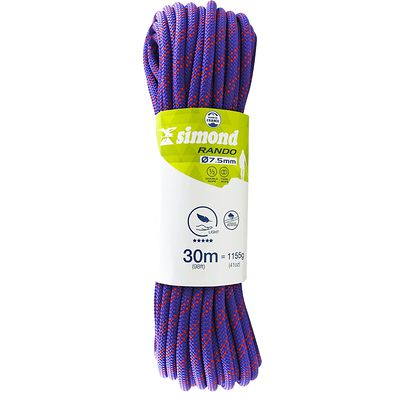 CORDE RANDO 7.5MM X 30M D'ESCALADE SIMOND