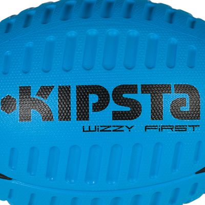 Ballon rugby mousse Wizzy taille 3 bleu