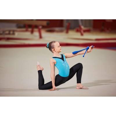 Collant gymnastique gym fille noir