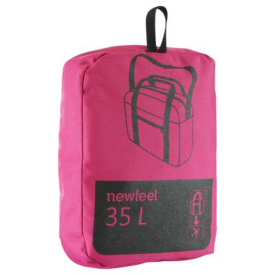 Sac repliable Duffle 35L format cabine rose
