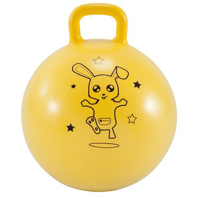 Ballon Sauteur Resist 45 cm Jaune.