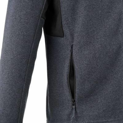 Polaire randonnée homme Forclaz 500 gris foncé