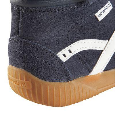 Chaussures marche et multisports enfant Jarry Mid cuir bleu