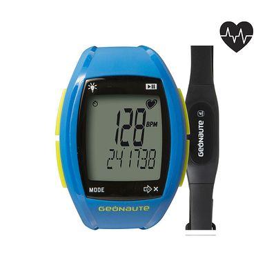 Montre et ceinture cardiofréquencemètre codée ONRHYTHM 310 bleu
