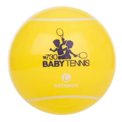 BALLE DE BABY TENNIS TB730 JAUNE