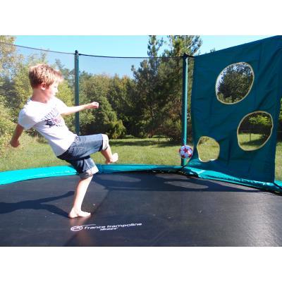 trampoline housse filet de protection decathlon pro. Black Bedroom Furniture Sets. Home Design Ideas
