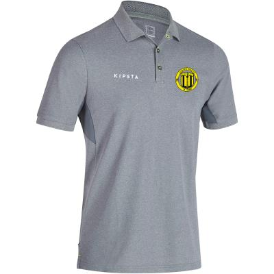 POLO LIGHT GRIS CHINE HOMME JST