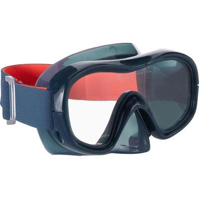 Masque d'apnée freediving FRD120 gris tempête