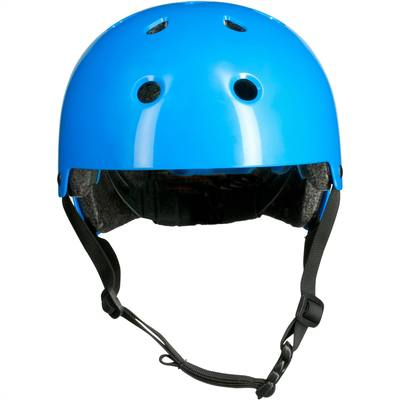 Casque roller skateboard trottinette vélo PLAY 3 bleu