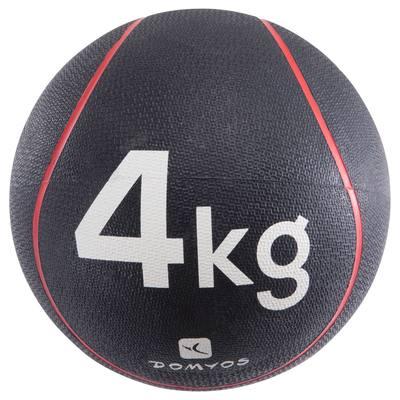 LESTE DE FITNESS ET MUSCULATION MEDECINE BALL 4 KG