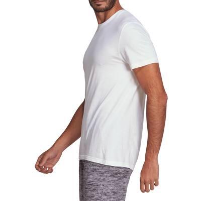 T-Shirt Gym & Pilates homme blanc Sportee