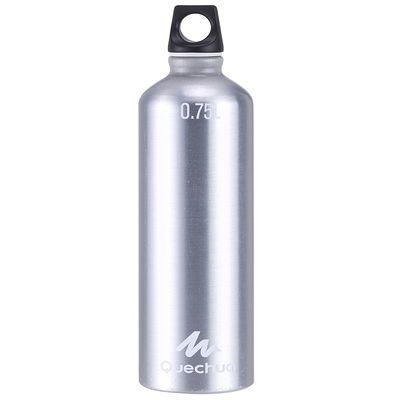 Gourde randonnée 100 bouchon à vis 0,75 litre aluminium métal