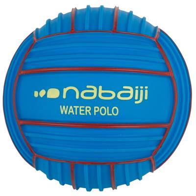Petit ballon aquatique adhérent bleu