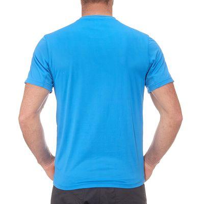 T-Shirt Manches Courtes Randonnée TechFRESH 50 homme Bleu Clair