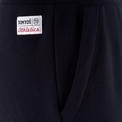 Pantalon regular homme musculation noir