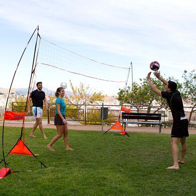 Set beach volley The Net orange