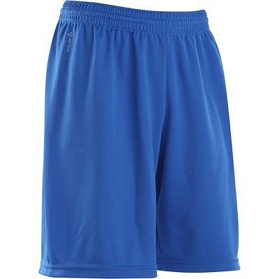 Short football enfant F100 bleu