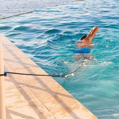 Élastique de nage