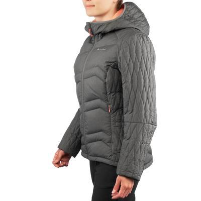 Doudoune randonnée femme X-Light 3 gris chiné