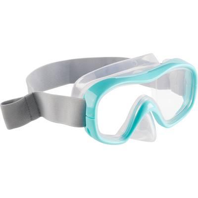 Masque de snorkeling SNK 500 enfant turquoise
