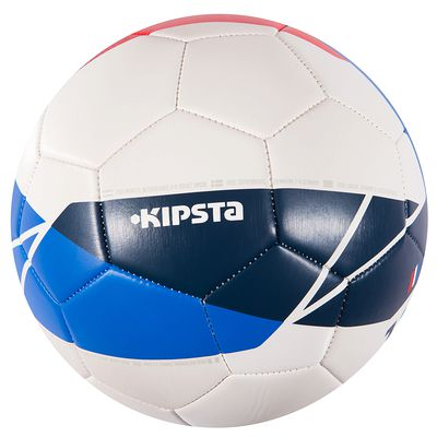 Ballon football France taille 5 bleu blanc rouge