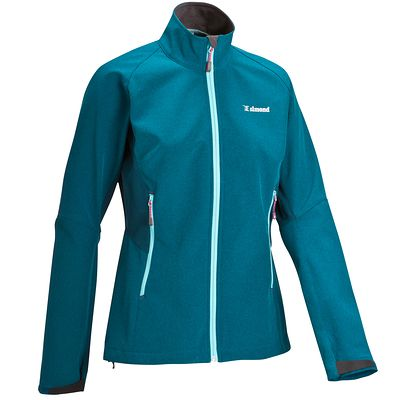 SOFTSHELL ALPIN LADY BLEU