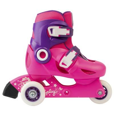 b3eaaec6b979a roller enfant PLAY3 rose violet - Clubs & Collectivités   Decathlon Pro