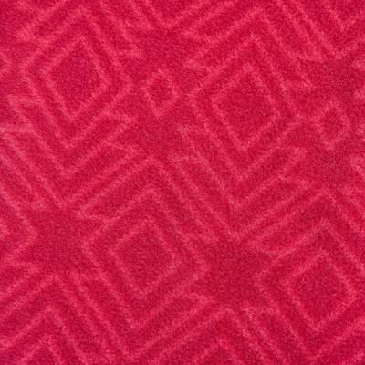 Polaire randonnée femme Forclaz 200 imprimé rose
