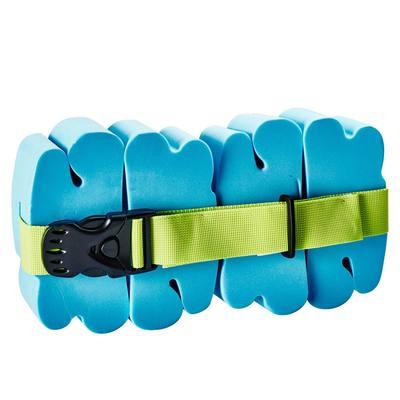 Ceinture de natation bleue avec pains de mousse pour enfants de 15 à 60kg