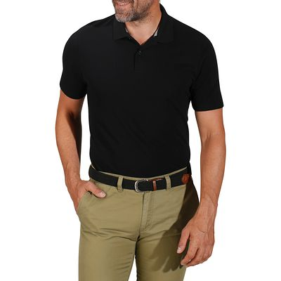 Polos respirants noirs homme ZxqAr