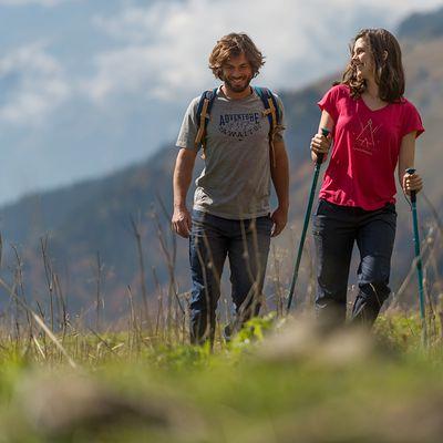 Baton de randonnée / trekking Arpenaz 100 bleu