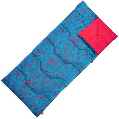 Sac de couchage de camping enfant ARPENAZ 20° bleu