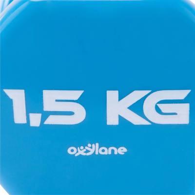 HALTERE GYM PILATES PVC 2*1.5 KG