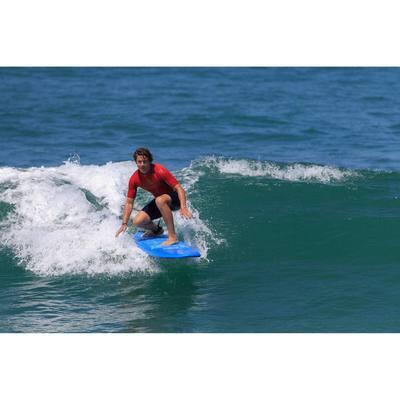 Combinaison Surf shorty100 Néoprène Homme Bleu Orange