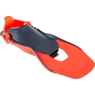 Palmes de snorkeling enfant SNK 500 JR oranges réglables