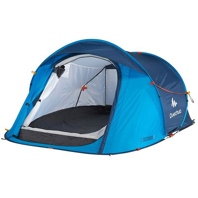 Tente camping 2 seconds EASY 2 bleu - 2 personnes
